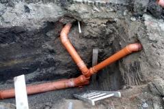 rekonstrukce kanalizace pro bytový dům Ol