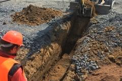 Bagrování kanalizace