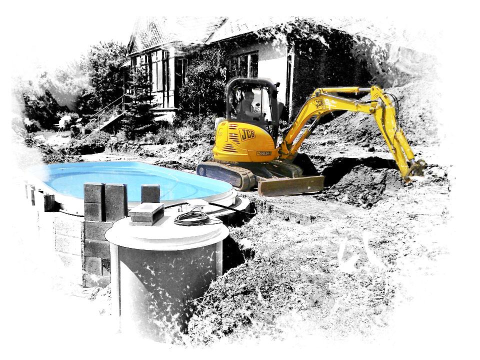 bazény a jezírka tvorba a výstavba