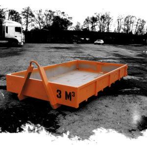 kontejner vanový 3m3