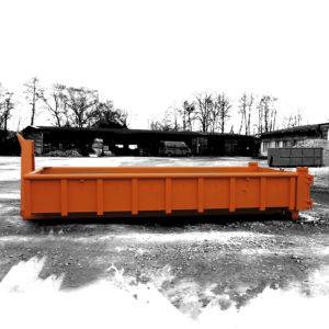Vanový kontejner do hmotnosti 9 tun odpadu