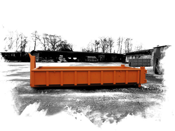 kontejner do hmotnosti 9t.