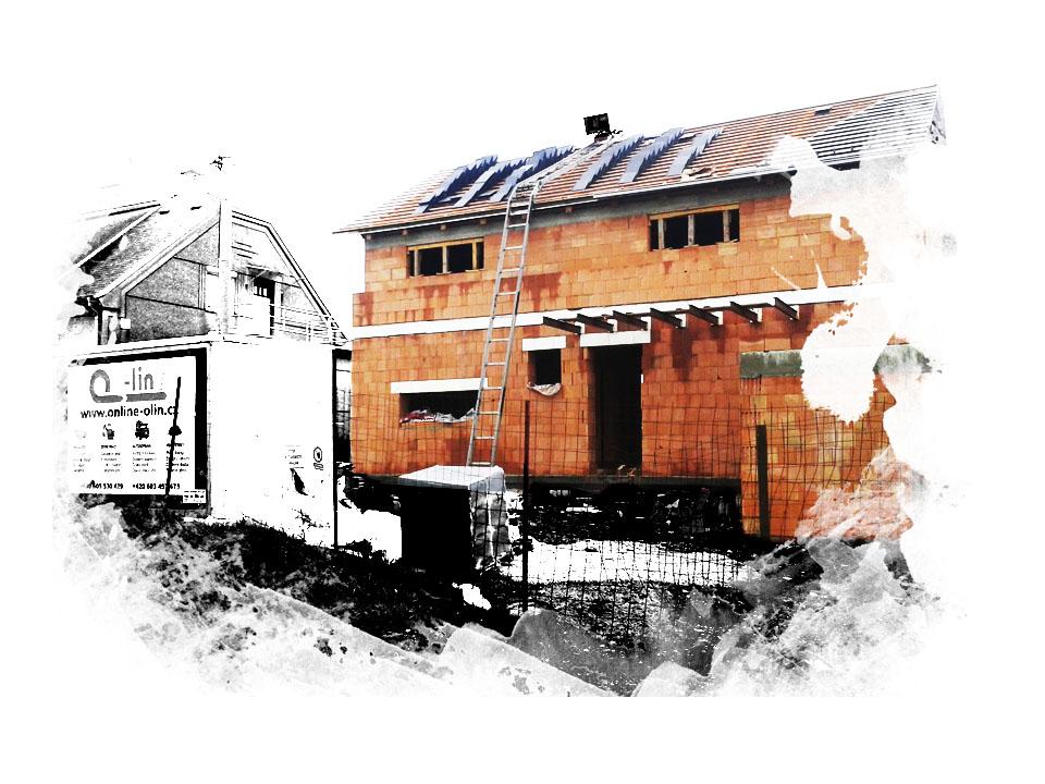 Hrubé stavby a základy rodinných domů