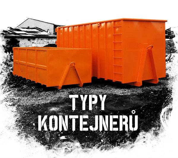 typy přepravních kontejnerů