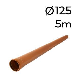 kg potrubí rovné 125-5m