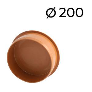 KG víčko průměr 200