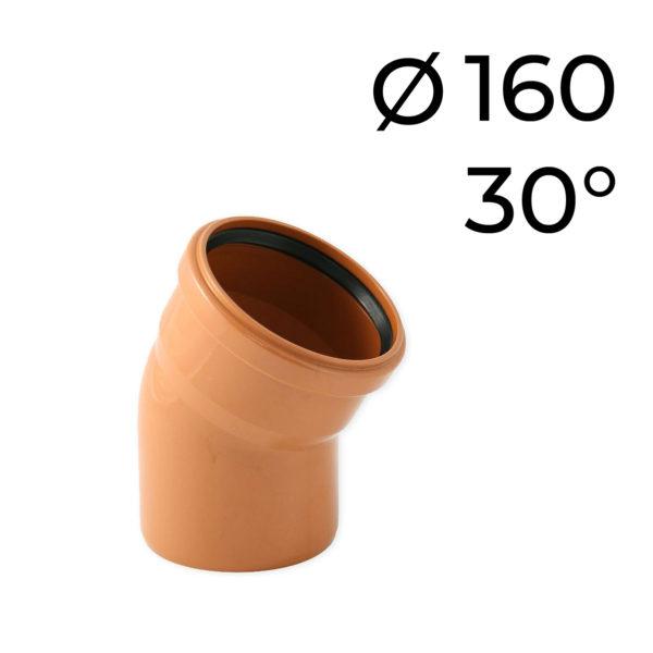 KG koleno DN 160 -30