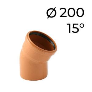KG koleno DN 200 -15
