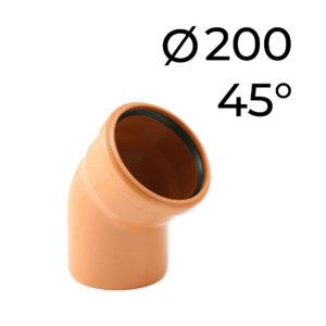 KG koleno 200 - 45
