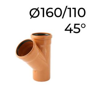 kg odbočka 160-110-45