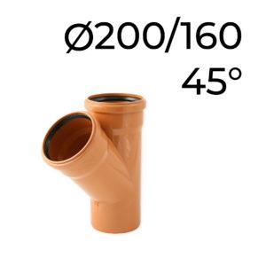 kg odbočka 200-160-45