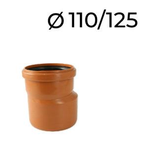 kanalizační redukce 110-125