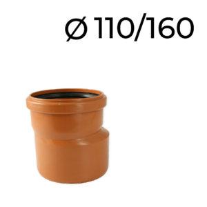 kanalizační redukce 110-160