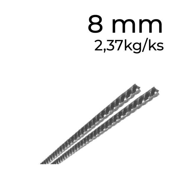 betonářská ocel 8 mm