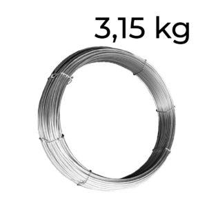 ocelový drát 3,15
