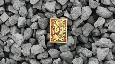 písky, štěrky, kamenivo