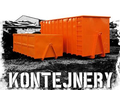 kontejnerová doprava šternberk a složení materiálu hydraulickou rukou