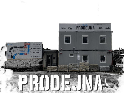 prodejna stavebního materiálu ve Šternberku