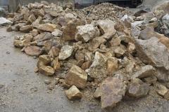 lomový kámen hromada - prodejna Šternberk